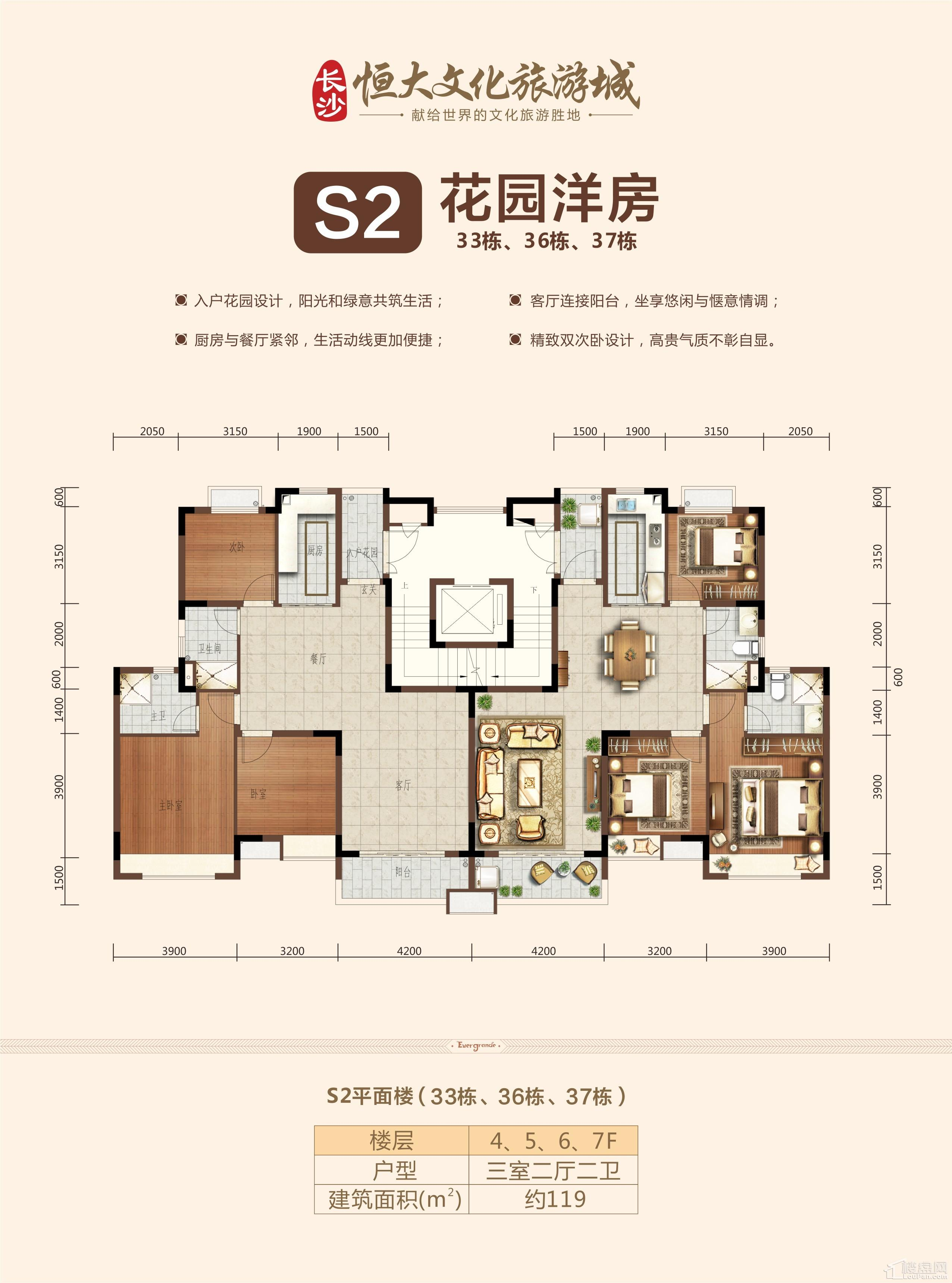 S2花园洋房4-6层