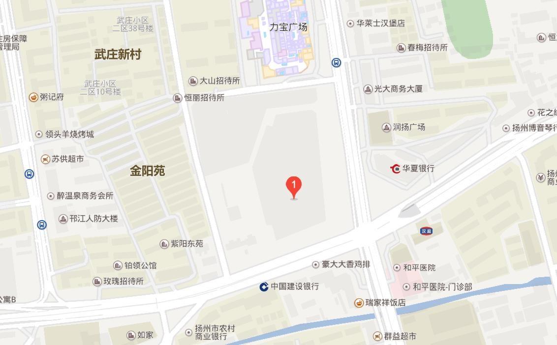 扬州万达广场位置图
