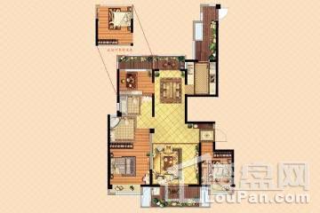 扬州万达广场户型图