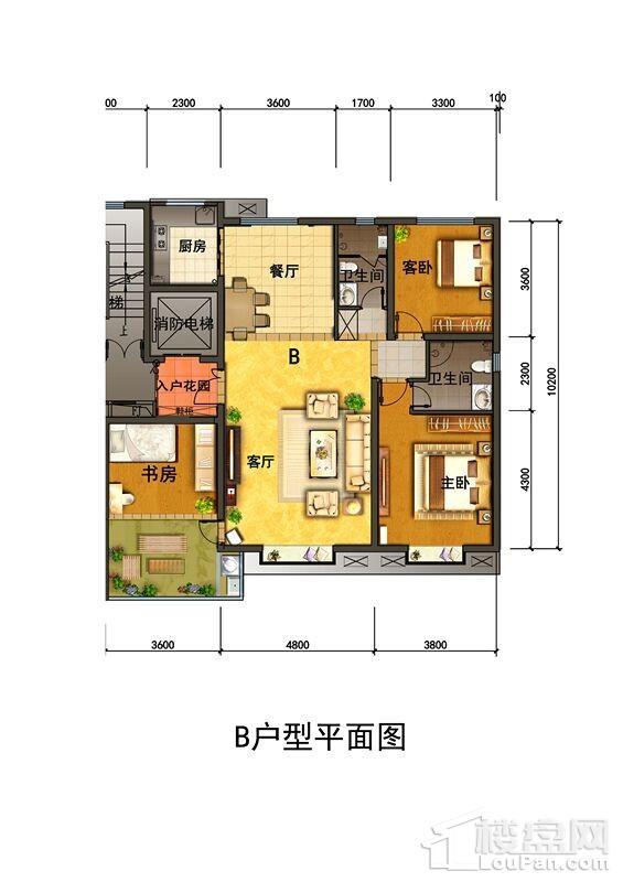 晋瑞·驿都户型图