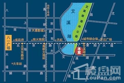 艾溪湖一号位置图