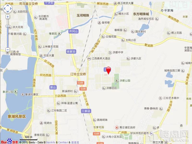 鸿鹏福邸位置图