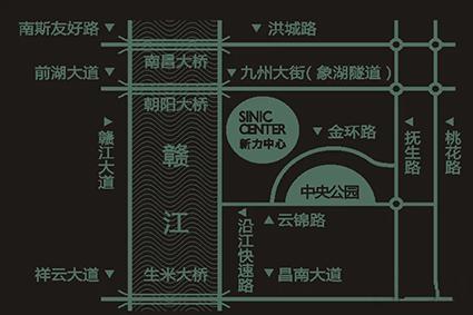 新力中心位置图