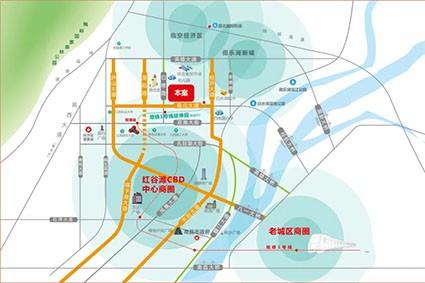 城泰枫华天成位置图