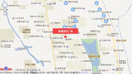 煌盛悦佳广场位置图