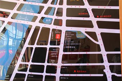 意环·地铁公馆位置图
