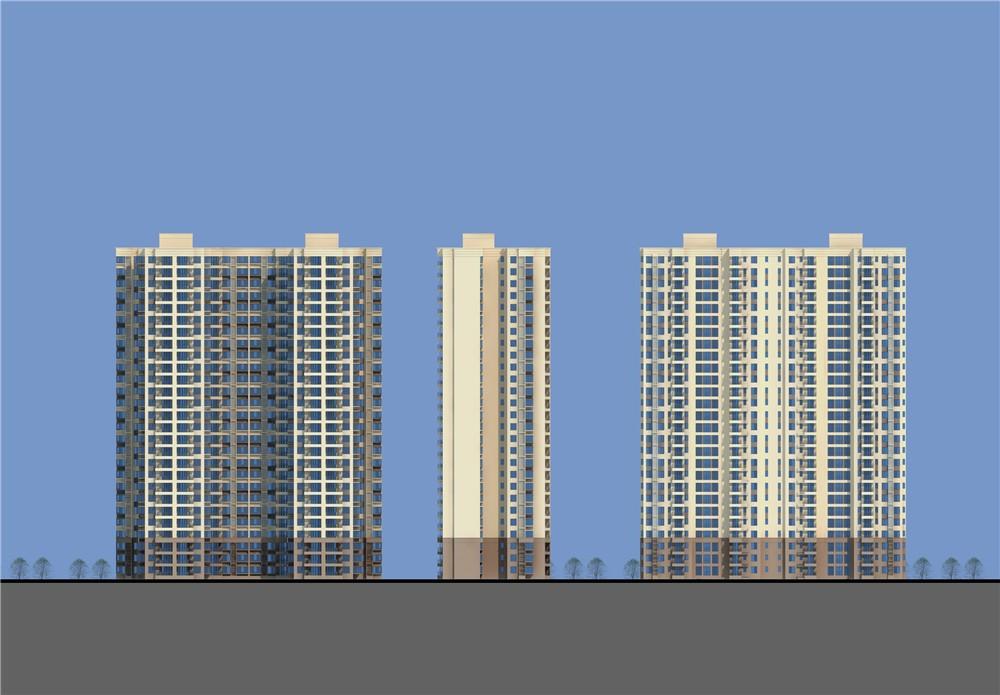 中建·璟和城效果图