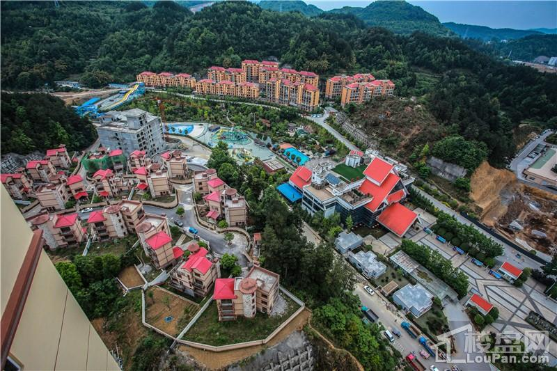 遵义汇川国际温泉旅游城实景图