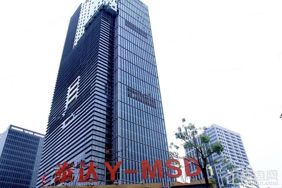 泰达赢+国际公寓实景图