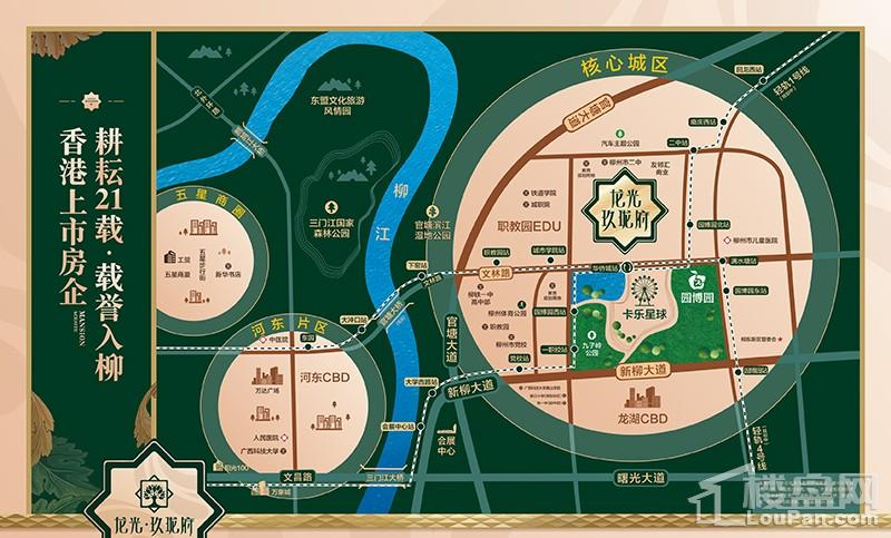 龙光·玖珑府位置图
