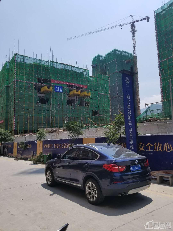 鸿涛名邸5月工程进度实景图