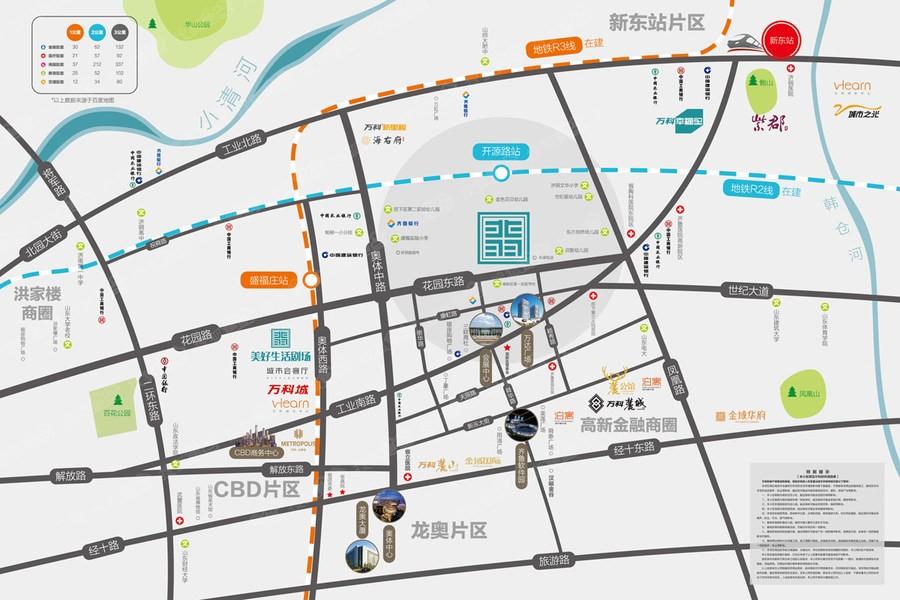 万科翡翠公园位置图
