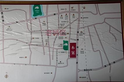 南莲华庭位置图