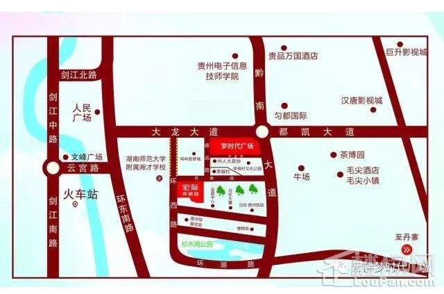 宏际·梦时代广场位置图