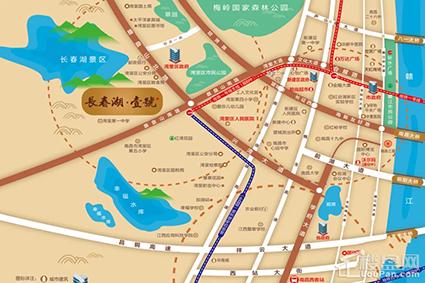 长春湖壹号位置图
