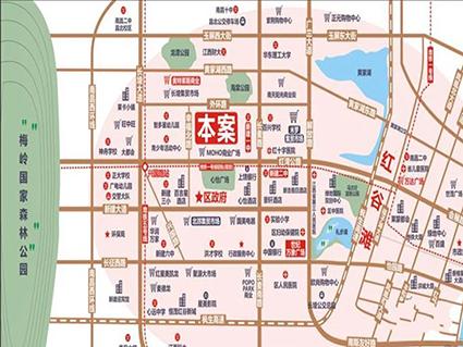 哈佛园位置图