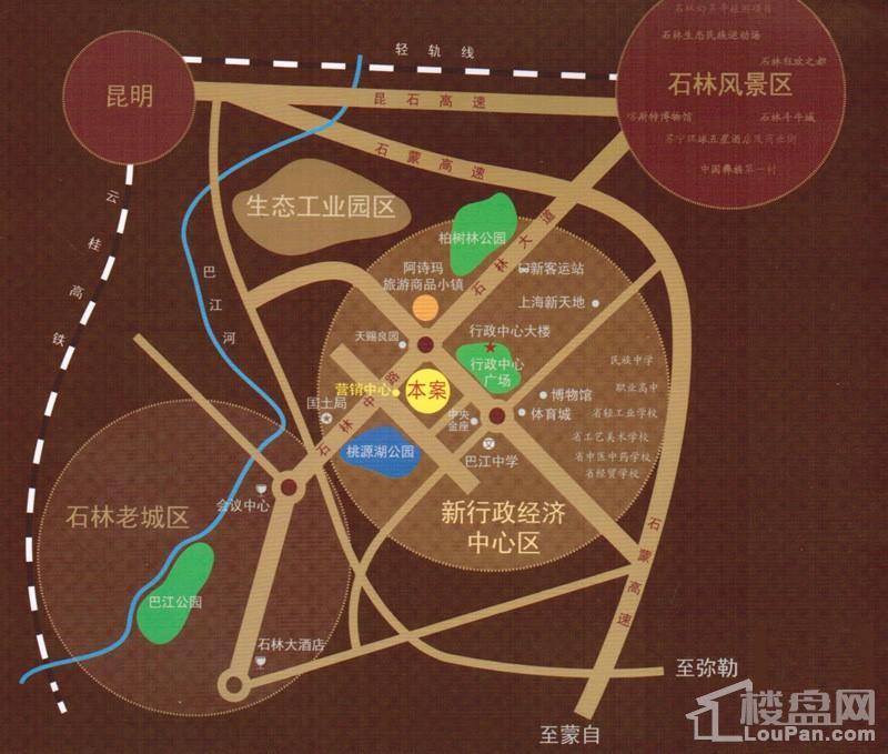 颐林尚都位置图