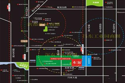 深农大厦位置图