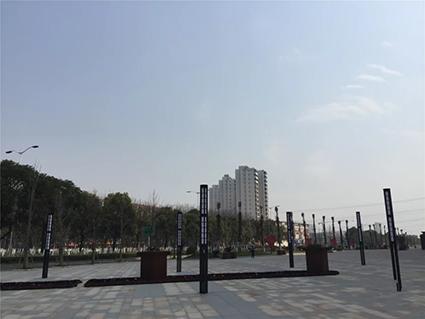 航天科创广场实景图