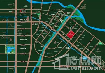 碧桂园.翡翠天境位置图