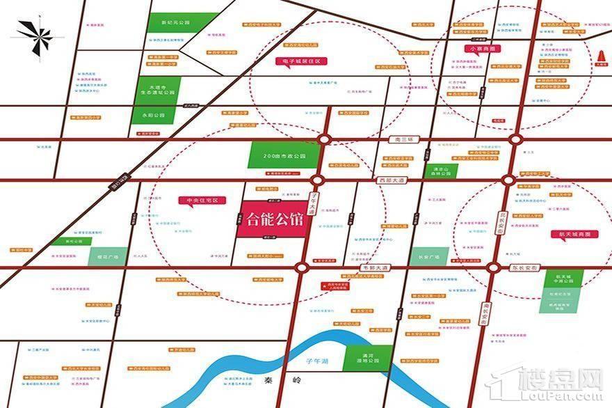 合能公馆商铺位置图