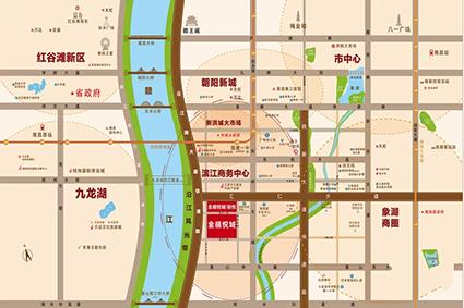 富力金禧悦城位置图