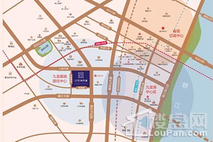 江铃时代城位置图