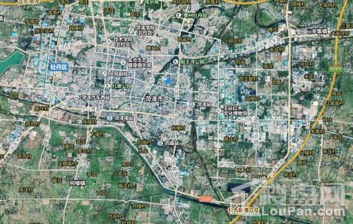 菏泽市城市总体规划图