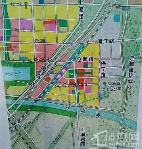 菏泽高铁片区城市设计