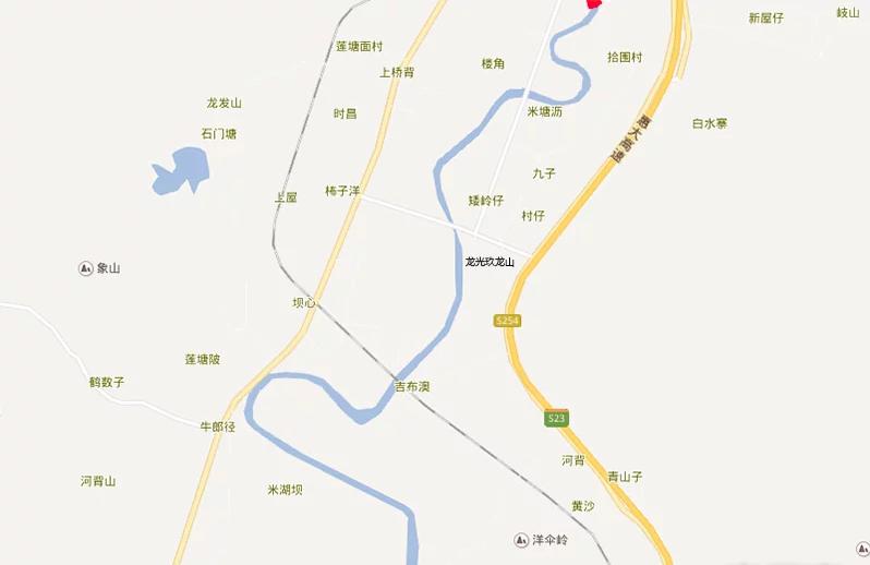 龙光玖龙山位置图