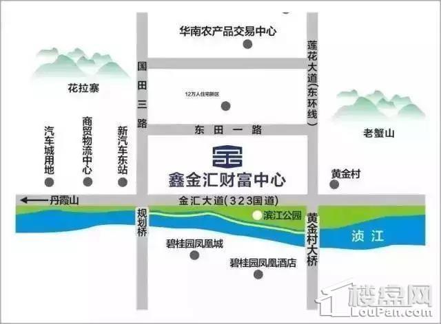 鑫金汇建材家居广场位置图