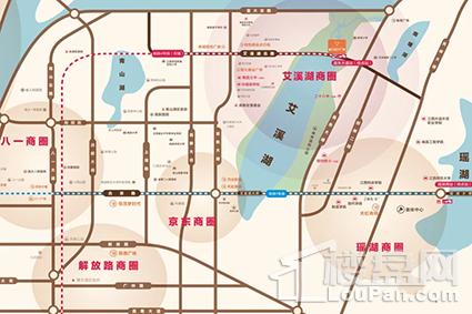 新力时代广场位置图