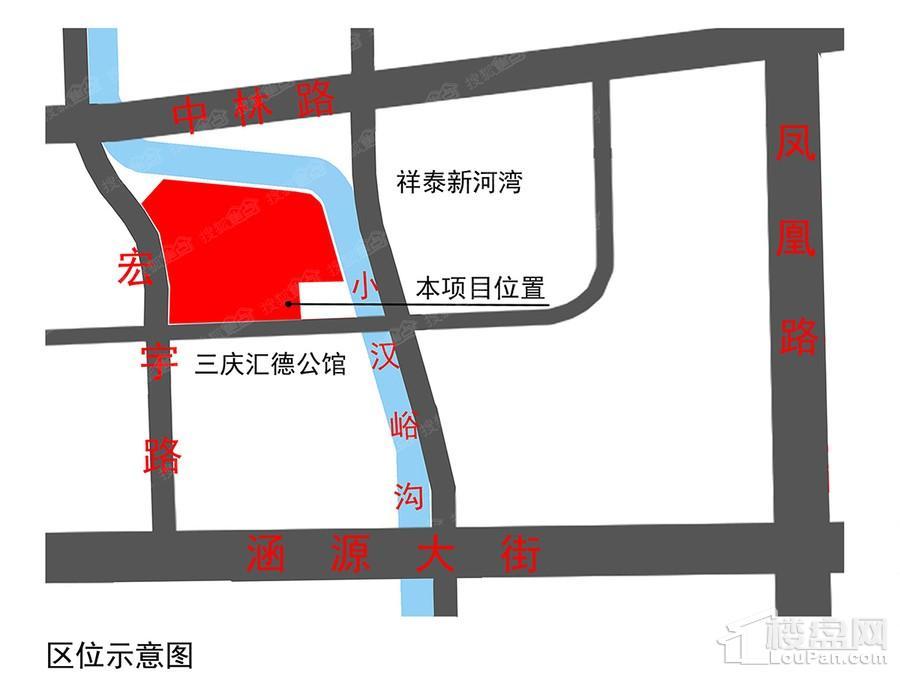 中垠御苑位置图