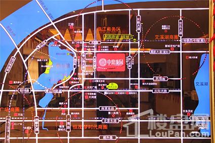 中鼎珑园位置图