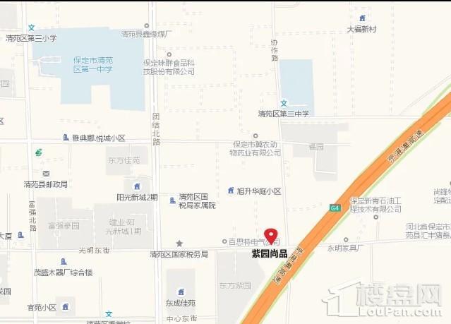 紫园尚品位置图