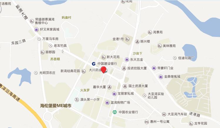 红树景园位置图