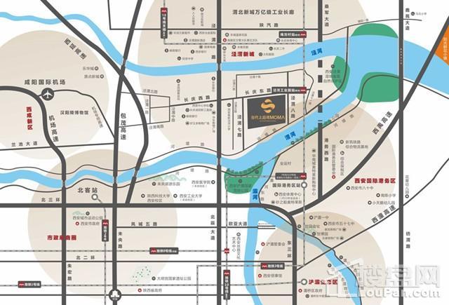 当代上品湾MOMA位置图