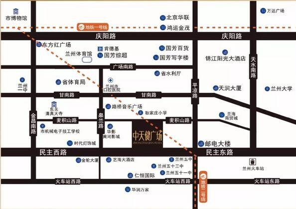 中天健水泵厂项目位置图