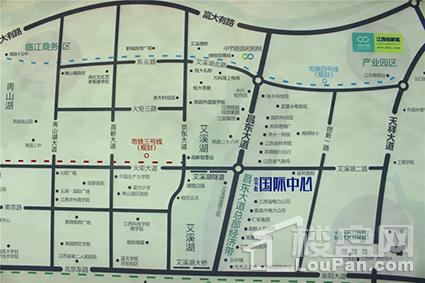 中节能国际中心位置图