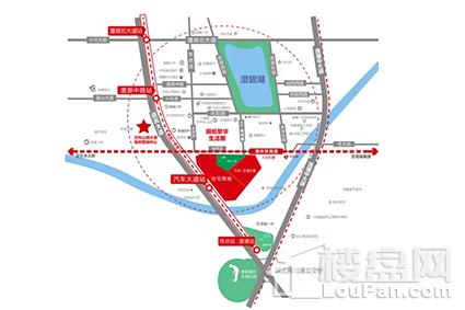 万科城市花园位置图
