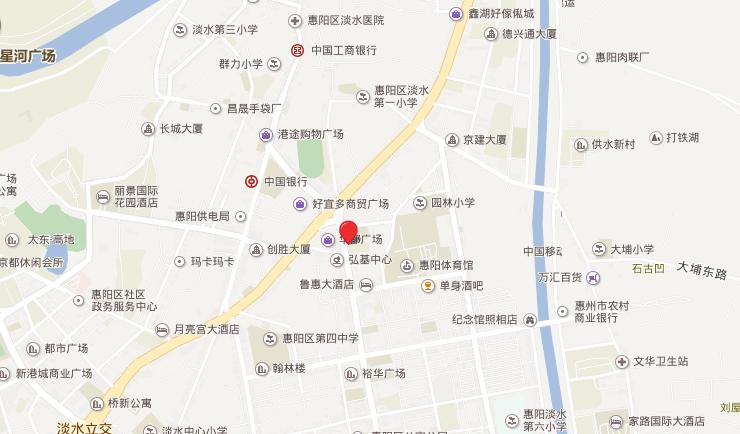 长通熙园位置图
