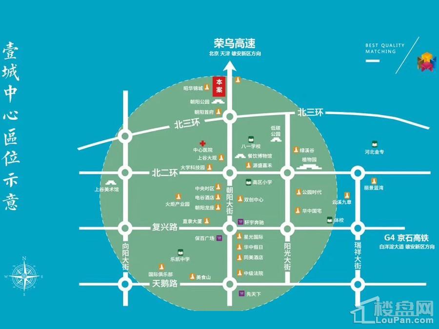 壹城中心位置图
