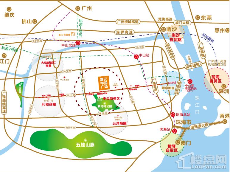 富元中润广场位置图