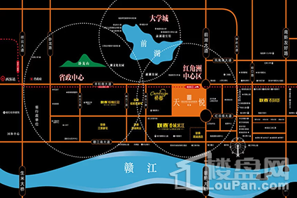联泰天悦位置图