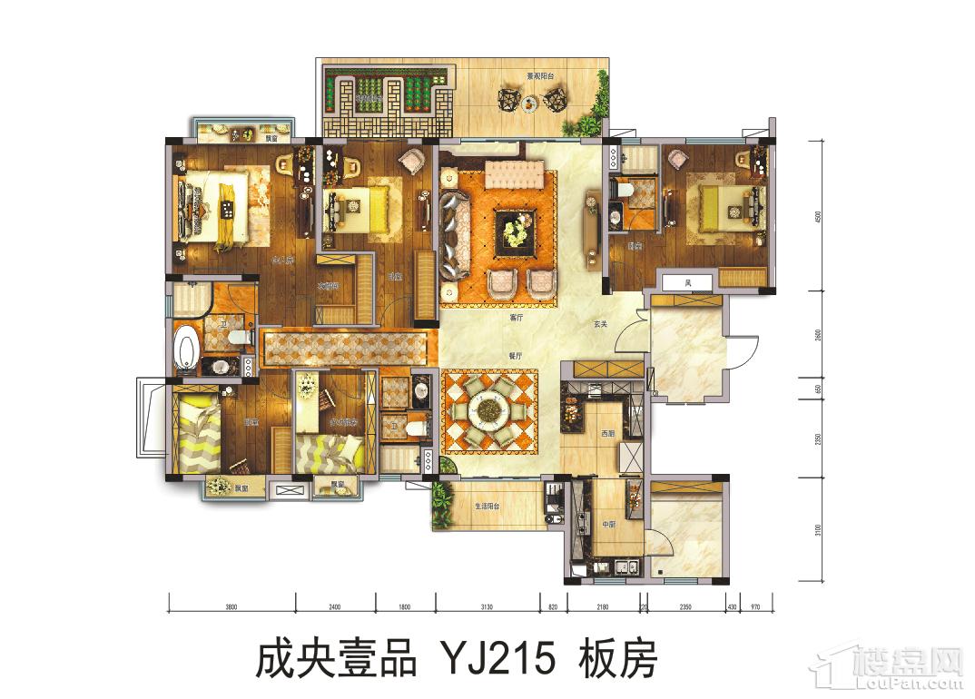 成央壹品YJ215