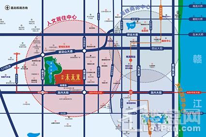 淘鑫未未来位置图
