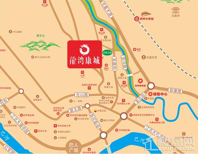 龙湾康城位置图