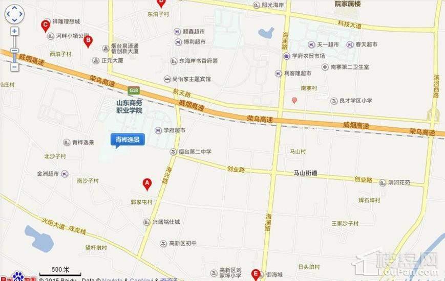青桦逸景位置图