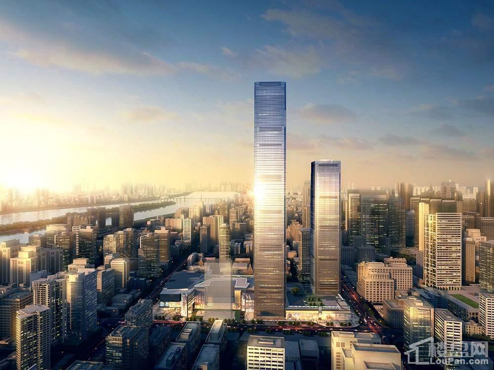 长沙最高楼效果图_长沙· 国金中心楼盘相册图片-长沙楼盘网