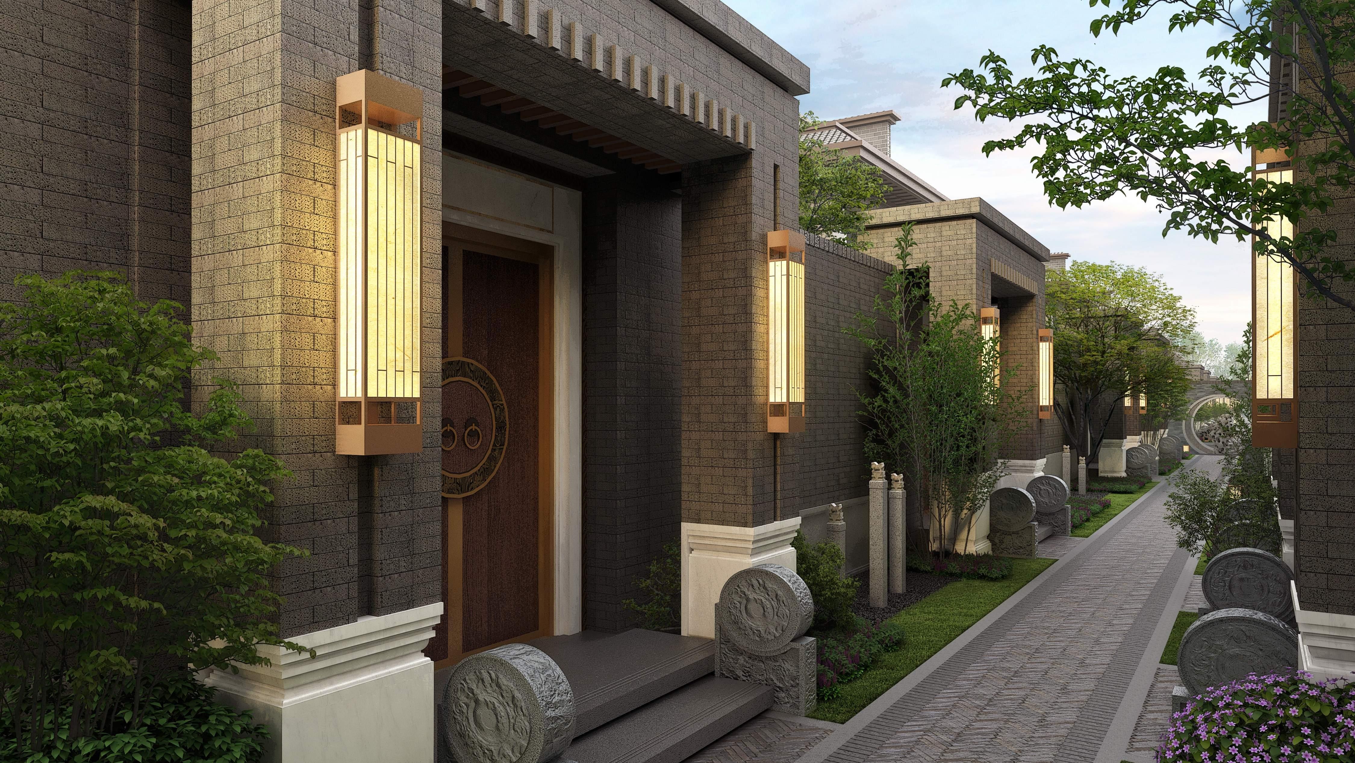 住新中式平层大宅,和别墅做邻居!图片